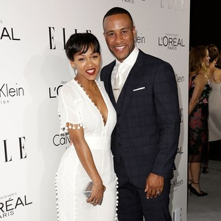 Meagan Good, DeVon Franklin in ELLE 20th Annual Women in Hollywood Celebration