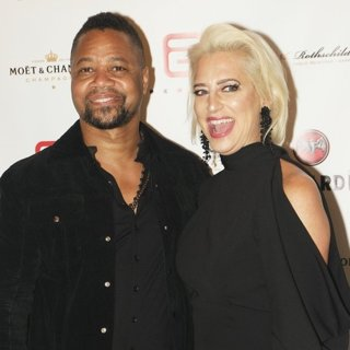 Cuba Gooding Jr., Dorinda Medley in Cuba Cooding Jr. Hosts The Opening of Marbles Downtown NYC Restaurant