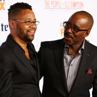 Cuba Gooding Jr., Courtney B. Vance in The Premiere of FX's American Crime Story