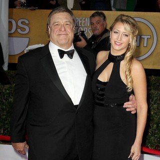 John Goodman, Annabeth Hartzog in 19th Annual Screen Actors Guild Awards - Arrivals