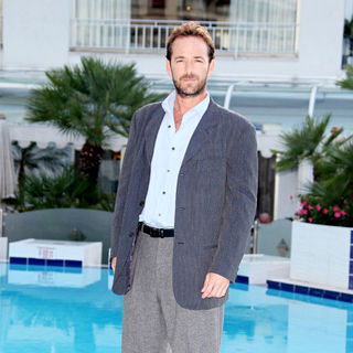 Luke Perry in 2010 MIPCOM - 'Goodnight for Justice' - Photocall