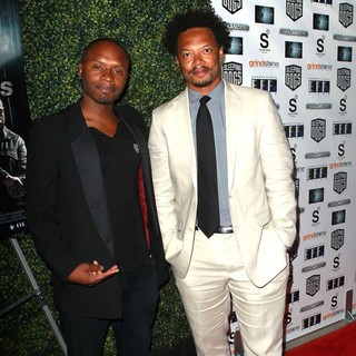 Malcolm Goodwin, L. Philippe Casseus in The Lionsgate Home Entertainment and Grindstone VIP Screening of Freelancers