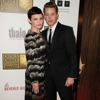 Ginnifer Goodwin, Josh Dallas in 2012 Critics' Choice TV Awards - Arrivals