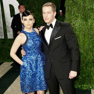Ginnifer Goodwin, Josh Dallas in 2013 Vanity Fair Oscar Party - Arrivals