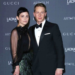 Josh Dallas in LACMA 2012 Art + Film Gala - Arrivals - goodwin-dallas-lacma-2012-04