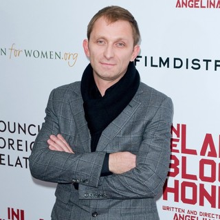 Goran Kostic in Premiere of In the Land of Blood and Honey - Arrivals