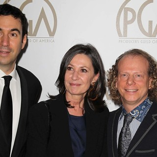 Jonathan Gordon, Donna Gigliotti, Bruce Cohen in 24th Annual Producers Guild Awards - Arrivals