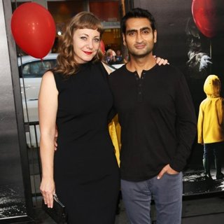 Emily V. Gordon, Kumail Nanjiani in World Premiere of It