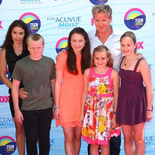 Gordon Ramsay in The 2012 Teen Choice Awards - Arrivals