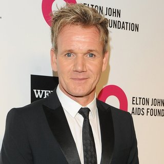 Gordon Ramsay in 22nd Annual Elton John AIDS Foundation Academy Awards Viewing Party - Arrivals