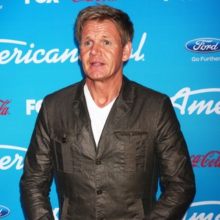 Gordon Ramsay in FOX's American Idol Finalists Party