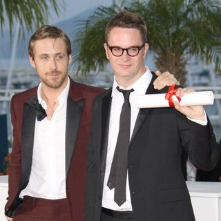Ryan Gosling, Nicolas Winding Refn in 2011 Cannes International Film Festival - Palme D'Or Winners Photocall