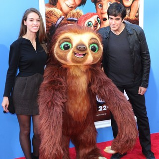 Chloe Gosselin, David Copperfield in The Croods Premiere - Arrivals