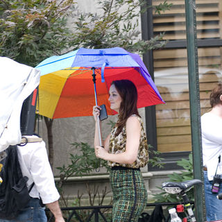 On The Set of 'Gossip Girl' Filming on Location in Manhattan