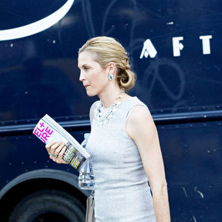 Kelly Rutherford in On Location with 'Gossip Girl' in New York's Meat Packing District