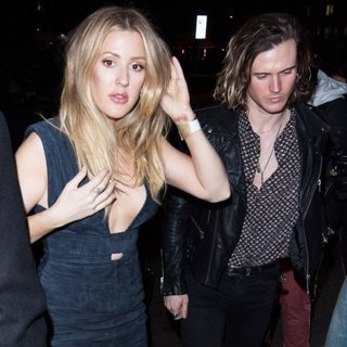 Ellie Goulding, Dougie Poynter-2017 London Fashion Week Burberry Party with Love Magazine - Arrivals