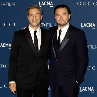 Michael Govan, Leonardo DiCaprio in LACMA 2013 Art and Film Gala Honoring Martin Scorsese and David Hockney Presented by Gucci