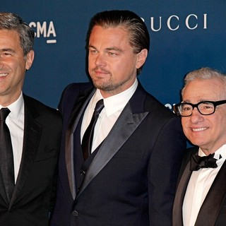 Michael Govan, Leonardo DiCaprio, Martin Scorsese in LACMA 2013 Art and Film Gala Honoring Martin Scorsese and David Hockney Presented by Gucci