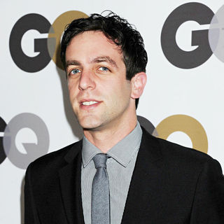 B.J. Novak in The GQ 2010 Men of The Year Party