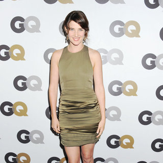 Cobie Smulders in The GQ 2010 Men of The Year Party