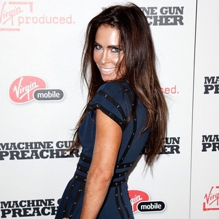 Grace Johnston in Machine Gun Preacher Los Angeles Premiere