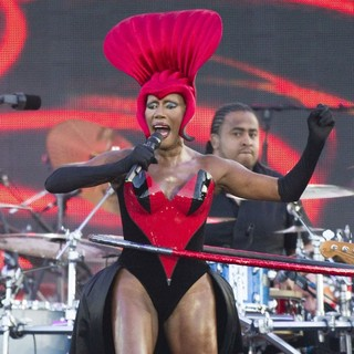 Grace Jones in The Diamond Jubilee Concert