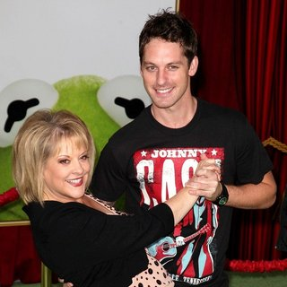 Nancy Grace, Tristan MacManus in The Premiere of Walt Disney Pictures' The Muppets - Arrivals