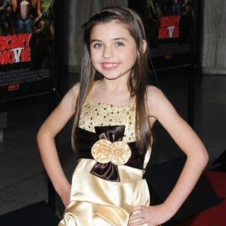 Gracie Whitton in Los Angeles Premiere of Scary Movie 5
