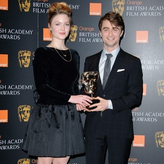 Holliday Grainger, Daniel Radcliffe in 2012 Orange British Academy Film Awards Nominations Announcement