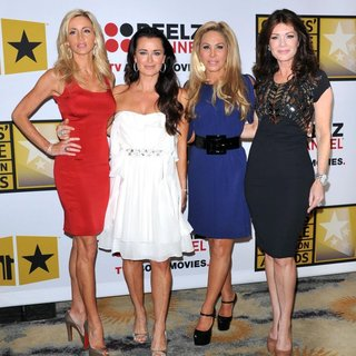 Camille Grammer, Kyle Richards, Adrienne Maloof, Lisa Vanderpump in The 2011 Critics Choice Television Awards Luncheon - Red Carpet