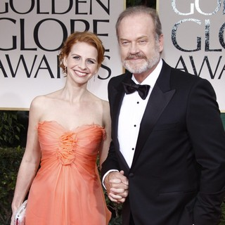 Kayte Walsh, Kelsey Grammer in The 69th Annual Golden Globe Awards - Arrivals