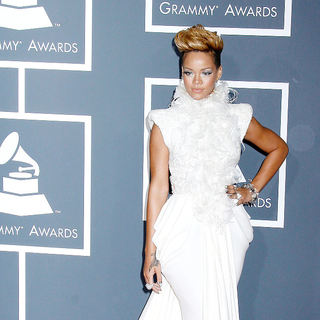Rihanna in 52nd Annual Grammy Awards