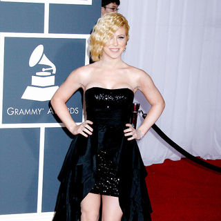 Kristine Elezaj in 52nd Annual Grammy Awards