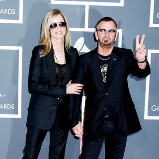 Barbara Bach, Ringo Starr in 52nd Annual Grammy Awards