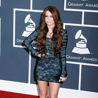 Miley Cyrus in 52nd Annual Grammy Awards