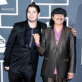 Carlos Santana, Salvador Santana in 52nd Annual Grammy Awards