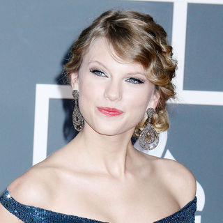 Taylor Swift in 52nd Annual Grammy Awards