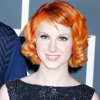 Hayley Williams in 52nd Annual Grammy Awards