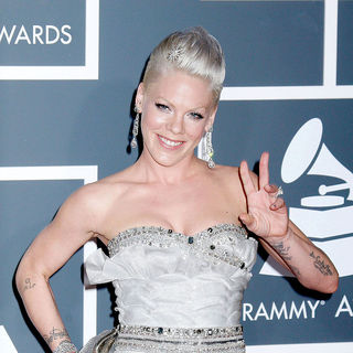 Pink in 52nd Annual Grammy Awards