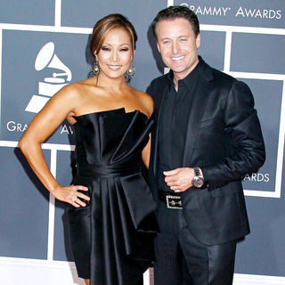 Carrie Ann Inaba, Chris Harrison in 52nd Annual Grammy Awards