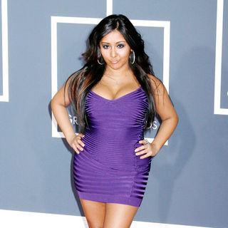 Snooki in 52nd Annual Grammy Awards