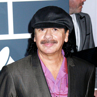 Carlos Santana in 52nd Annual Grammy Awards