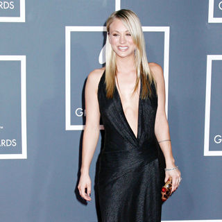 Kaley Cuoco in 52nd Annual Grammy Awards