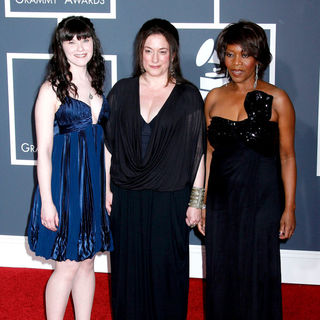 Alfre Woodard, Sharon Gelman, Michelle McGonigle in 52nd Annual Grammy Awards