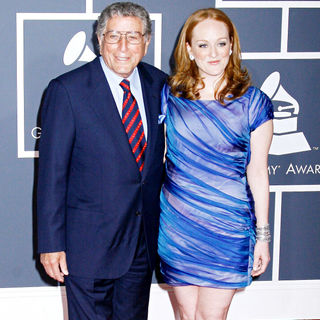 Tony Bennett, Antonia Bennett in 52nd Annual Grammy Awards