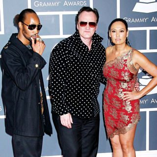 RZA, Quentin Tarantino, Tia Carrere in 52nd Annual Grammy Awards
