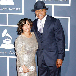LL Cool J, Simone I. Smith in 52nd Annual Grammy Awards