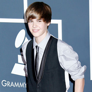 Justin Bieber in 52nd Annual Grammy Awards