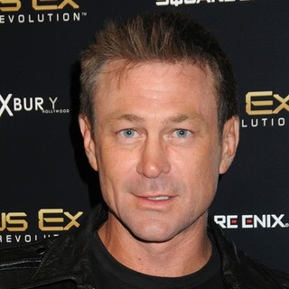 Grant Bowler in Deus Ex: Human Revolution Launch Party