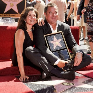 Amy Grant, Vince Gill in Vince Gill Is Honored with A Star on The Hollywood Walk of Fame